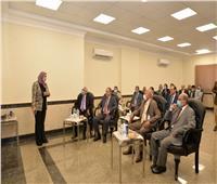 رئيسمصر للطيران يتفقد مشروع مبنى الخدمات الأرضية الجديد