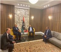 سامح شكري يصل طرابلس للمشاركة في «دعم استقرار ليبيا»