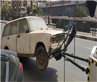 رفع 40 سيارة ودراجة نارية متهالكة بمختلف محافظات الجمهورية