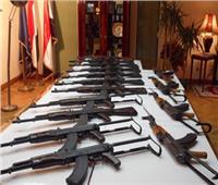 الأمن العام يضبط 201 قطعة سلاح وينفذ 84 ألف حكم
