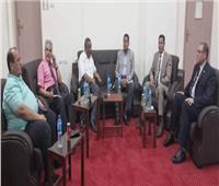 جامعة الوادي تستقبل مستشار وزير الزراعة للتحسين الوراثي