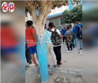 بالسلاح الأبيض.. اقتحام مدرسة إعدادية في الإسكندرية | فيديو