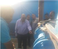 صور| مياه القناة تطبق منظومة الكلور الغاز في مجمع محطات أبوسلطان البلد