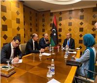 «شكري» يبحث مع نائبي رئيس المجلس الرئاسي الليبي تثبيت ركائز الاستقرار