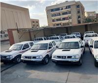دعم شركة «كهرباء القناة» بـ40 سيارة ربع نقل