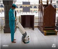 «دون تباعد وبسعة كاملة».. المسجد الحرام والنبوي يستعدان لصلاة الجمعة | صور