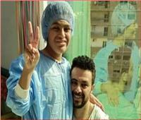 نقل نجل الفنان «كريم الحسيني» إلي المستشفي بعد تعرضه لأزمة صحية