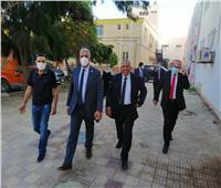 نائب رئيس جامعة الأزهر يتفقد المستشفى الجامعي في دمياط