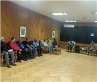 عطوة يتابع بروفات افتتاح مهرجان الإسماعيلية الدولي للفنون الشعبية..صور