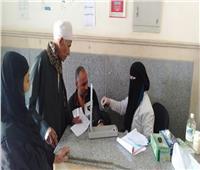 توقيع الكشف الطبي بالمجان على 1250مواطنا بسوهاج