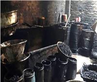 ضبط 10 طن «معسل» مجهول المصدر داخل مصنع بالقاهرة