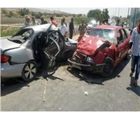 إصابة 4 أشخاص في حادث تصادم بطريق «مصر- إسكندرية الزراعي» بالقليوبية