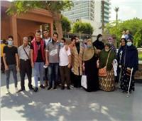 المتحف المصري يستقبل ذوي الهمم «أصحاب القلوب المبصرة» وكبار السن