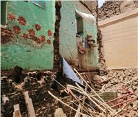 انهيار جزئي بمنزل في سوهاج دون إصابات بشرية