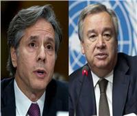 وزير الخارجية الأمريكي يبحث مع الأمم المتحدة جرائم إثيوبيا اللإنسانية