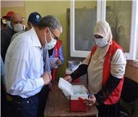 تزايد الإقبال على مراكز لقاح كورونا في المنيا