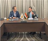 «عبد الوهاب» يعرض فرص الاستثمار في مصر أمام مسئولي الإمارات وقبرص