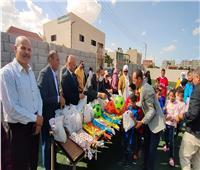 افتتاح ملعب خماسي بدار الرعاية المتكاملة للأيتام بالعريش