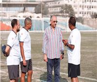 رئيس نادي البنك الأهلي يحفز لاعبيه قبل إنطلاق الموسم الجديد.