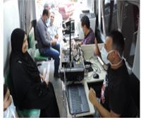 سيارات الأحوال المدنية المتنقلة تستخرج بطاقات للمواطنين بالقاهرة والمحافظات
