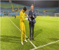 شريف إكرامي: فخور بوصولي للمباراة رقم 100 في اللقاءات الأفريقية