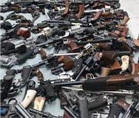الأمن العام يضبط 182 قطعة سلاح وينفذ 79 ألف حكمًا قضائيًا
