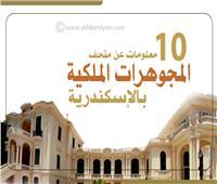 انفوجراف| 10 معلومات عن متحف المجوهرات الملكية بالإسكندرية