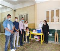 «صحة المنوفية»: نتابع الفرق الطبية المتنقلة لتطعيم لقاح فيروس كورونا | صور
