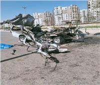 التصريح بدفن جثامين 9 أشخاص لقوا مصرعهم في حادث تصادم بطريق السويس
