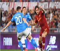 الدوري الإيطالي  تعادل سلبي بين روما ونابولي في ليلة طرد مورينيو