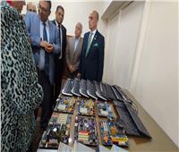 افتتاح أول معرض للمخلفات الالكترونية بجامعة طنطا