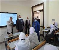 مدير «تعليم المنوفية» يتابع انتظام الدراسة ببعض مدارس إدارة السادات