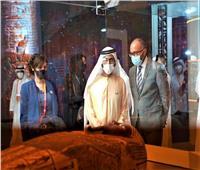 الشيخ محمد بن راشد يزور الجناح المصري المشارك بإكسبو 2020 دبي