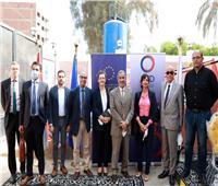 المجتمع الدولي يشيد بمساهمة جهاز تنمية المشروعات في خزان مياه أرض اللواء