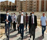 محافظ الفيوم يتفقد مشروعات الخدمية بمدينة الفيوم الجديدة