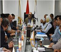 وزير الإسكان يتابع مشروع «أبراج الداون تاون» بمدينة العلمين