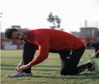 مران الأهلي   الشناوي يبدأ تدريبات الجري