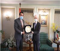 وزير التعليم العالي يبحث دعم التعاون العلمي والتعليمي مع اليابان