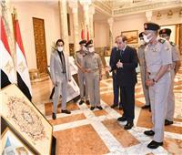 الرئيس السيسي يتابع الموقف الإنشائي لمشروعات الهيئة الهندسية | صور