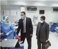 لمتابعة انتظام سير العمل.. وكيل صحة المنوفية يمر على مستشفى السادات المركزي