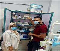 صحة المنوفية : المرور علي (180) منشأة طبية اثناء حملة مكبرة