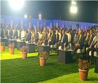 السويس تحتفل بالعيد القومي في حفل شعبي على شاطئ الخليج