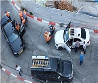 بالصور| سيارة نتنياهو تتعرض لحادث في مدينة القدس المحتلة