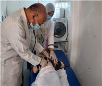 الكشف على 790 مريضًا بالقافلة الطبية العلاجية بقرية أبو النور بالدقهلية