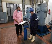 رئيس مياه سوهاج يشدد على ضرورة الالتزام بتعليمات التشغيل للمحطات