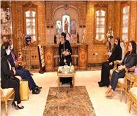 البابا يستقبل سفري بريطانيا وسريلانكا