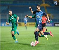 الدوري المصري  بيراميدز يحقق فوزا صعبا على المقاصة بثنائية