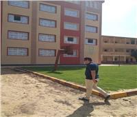 جناح مدرسة الكوادي الإبتدائية سابع إنجازات «حياه كريمة» في المنوفية