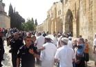 مستوطنون يقتحمون المسجد الأقصى تحت حراسة الاحتلال الإسرائيلي