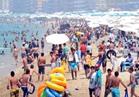 30% نسبة الإقبال على شواطئ الإسكندرية في شم النسيم